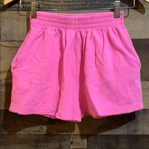 💙3/$10 Sonoma Pink Pique High Waisted Shorts